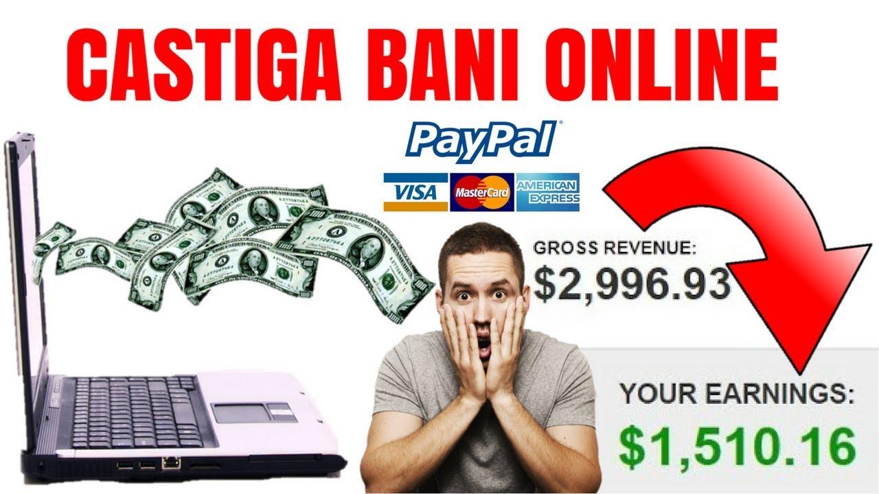 Vreau să câștig bani buni pe internet