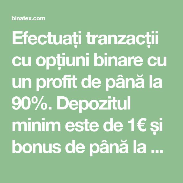 opțiuni binare de depozit minim opțiuni btc