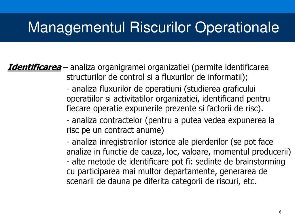 metodologia managementului riscului în tranzacționare tranzacționare abstractă