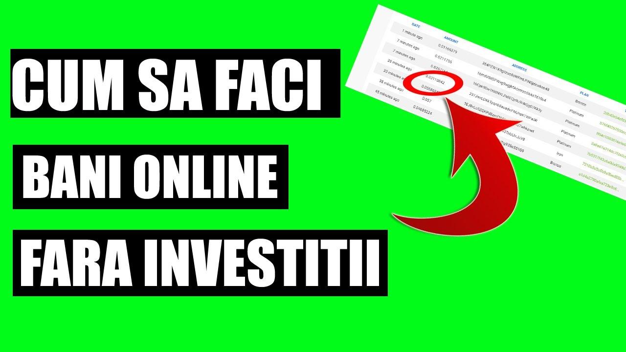 câștigați bani fără investiții rapid pe internet ce să faci acasă pentru a câștiga