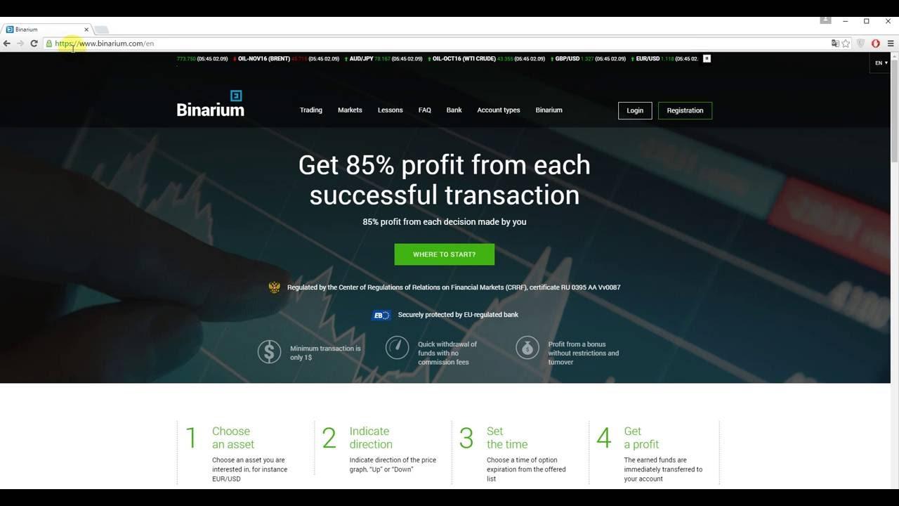 opțiunea binarium recenzii toate site- urile pe care puteți face bani