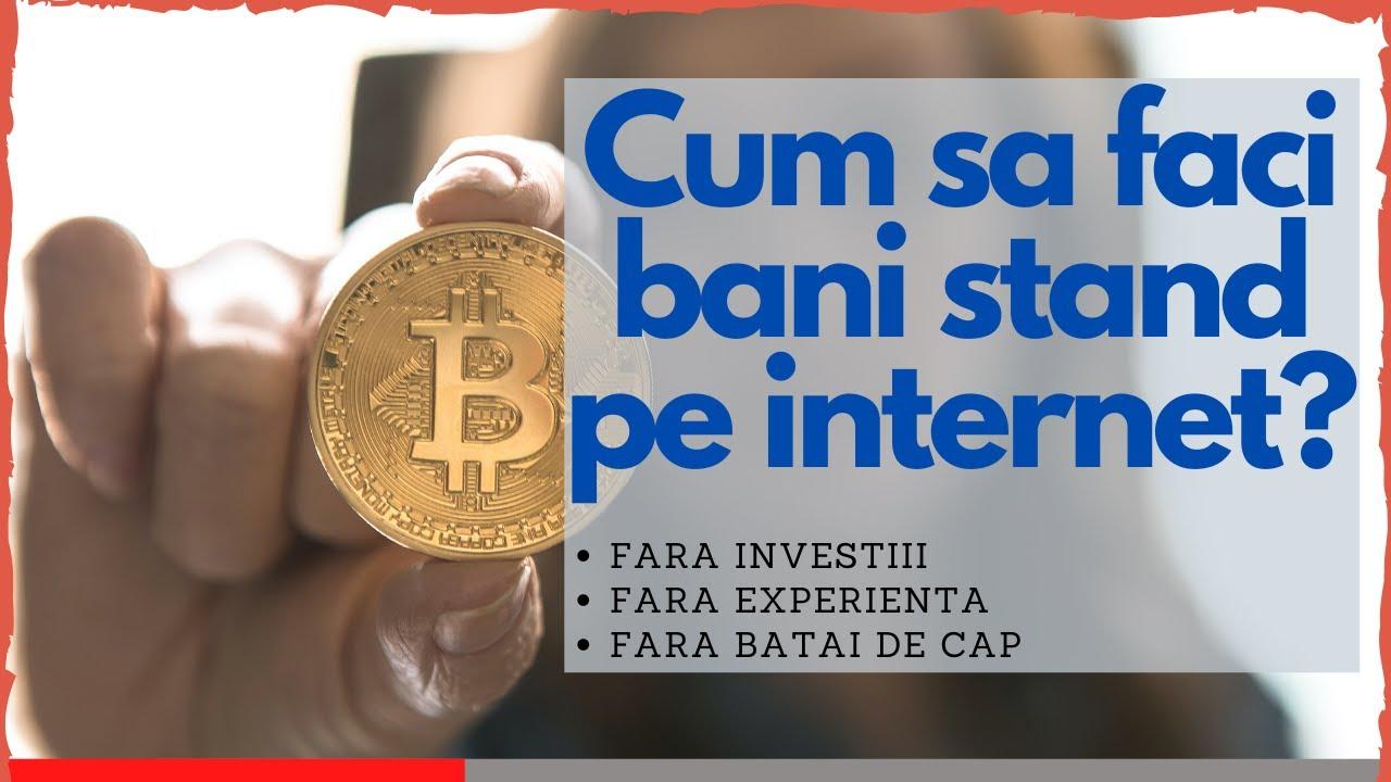 ce face bani online