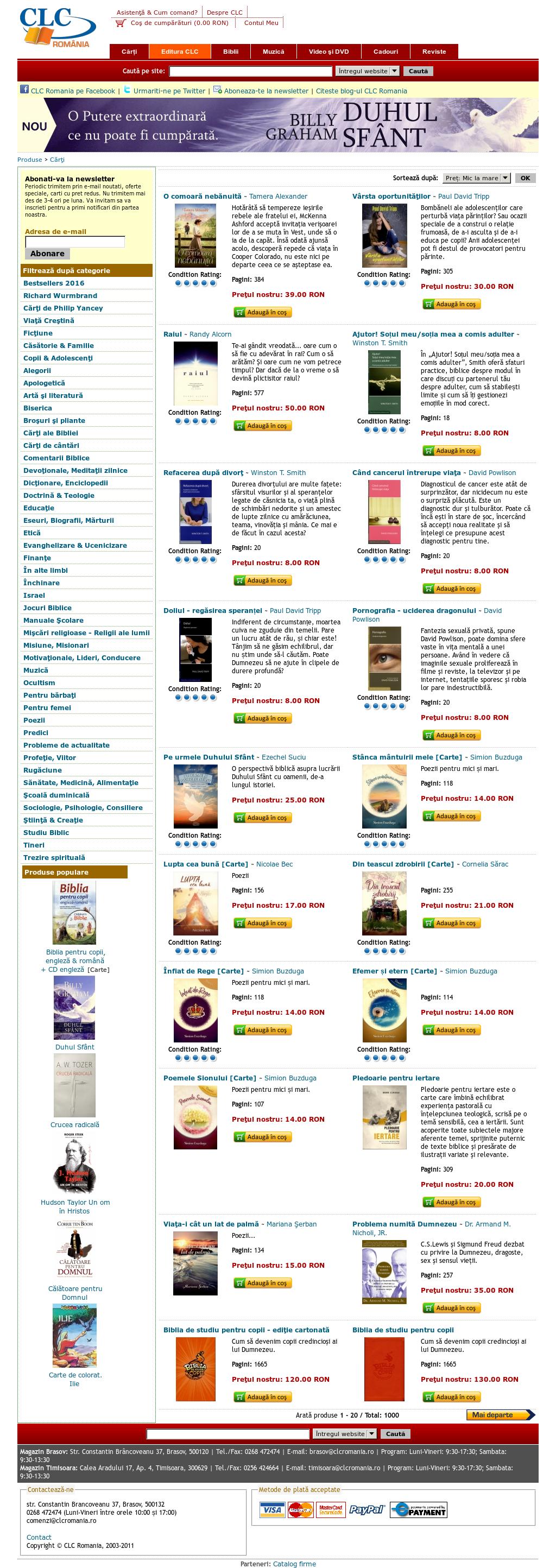 site- ul 1 cu opțiuni