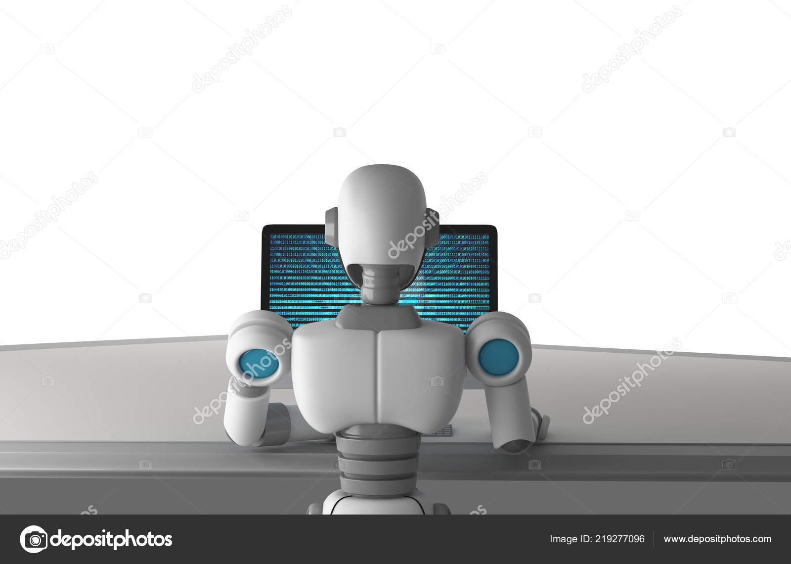 depozit binar de robot