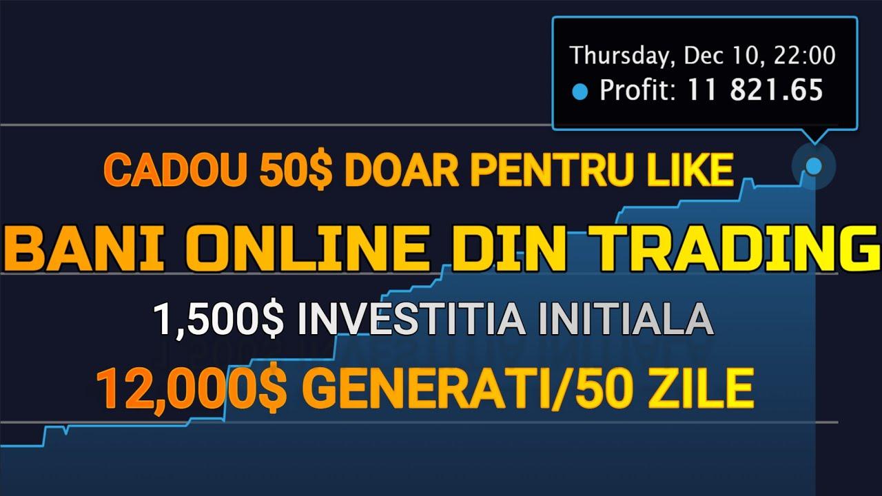 câștiguri pe internet bani serioși