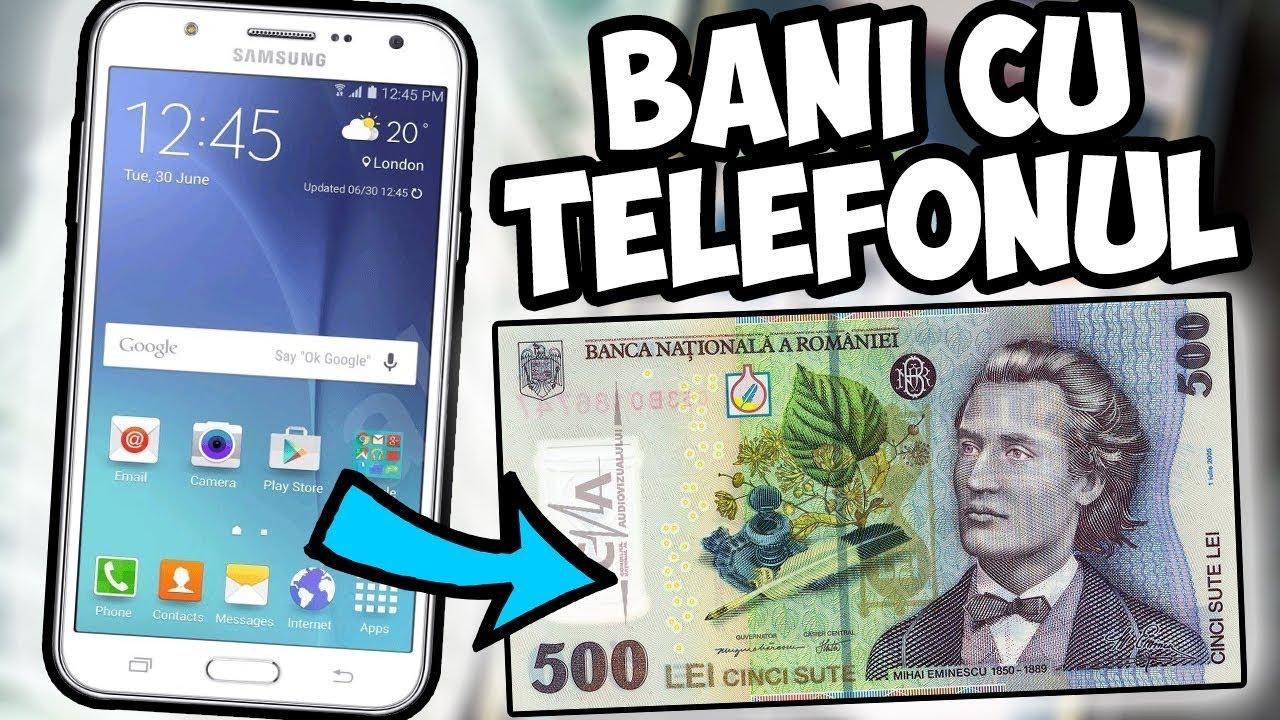 cum să faci bani de pe mobil