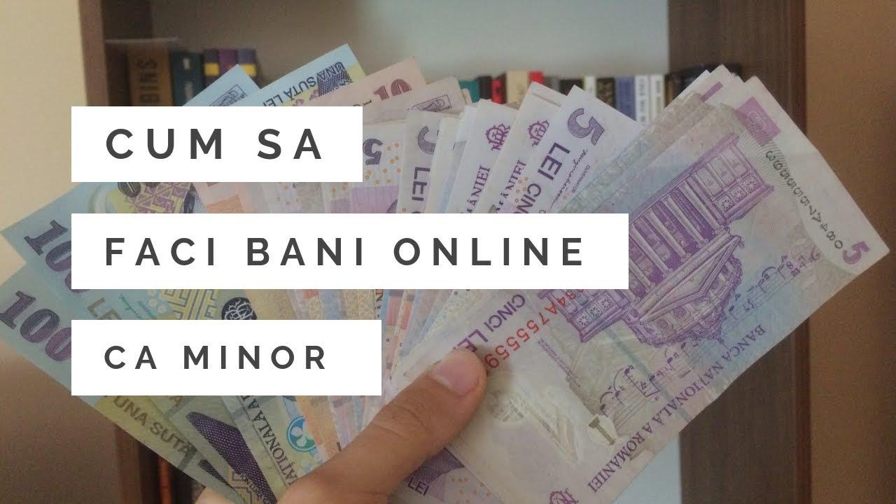 cum să faci bani online pe YouTube