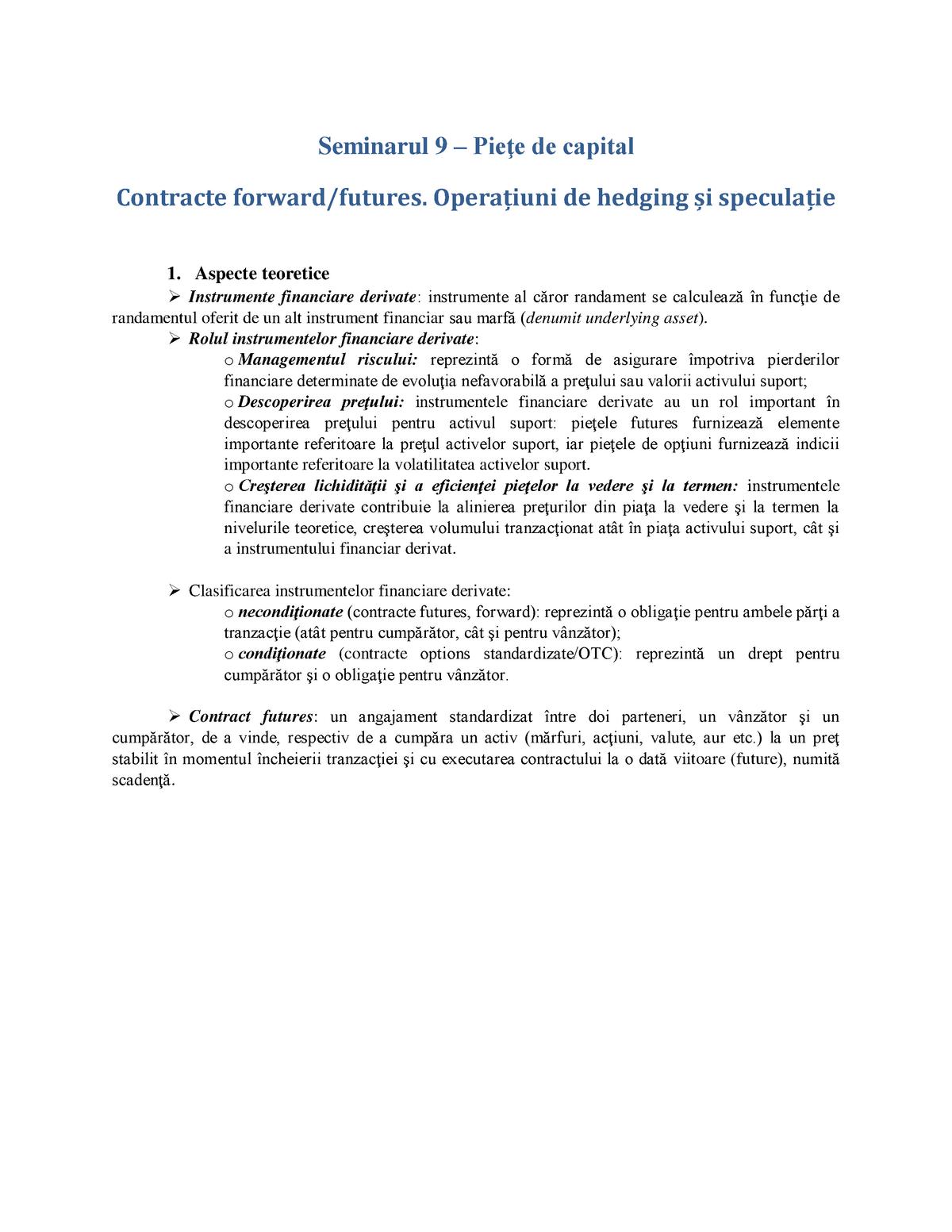 contracte de opțiuni