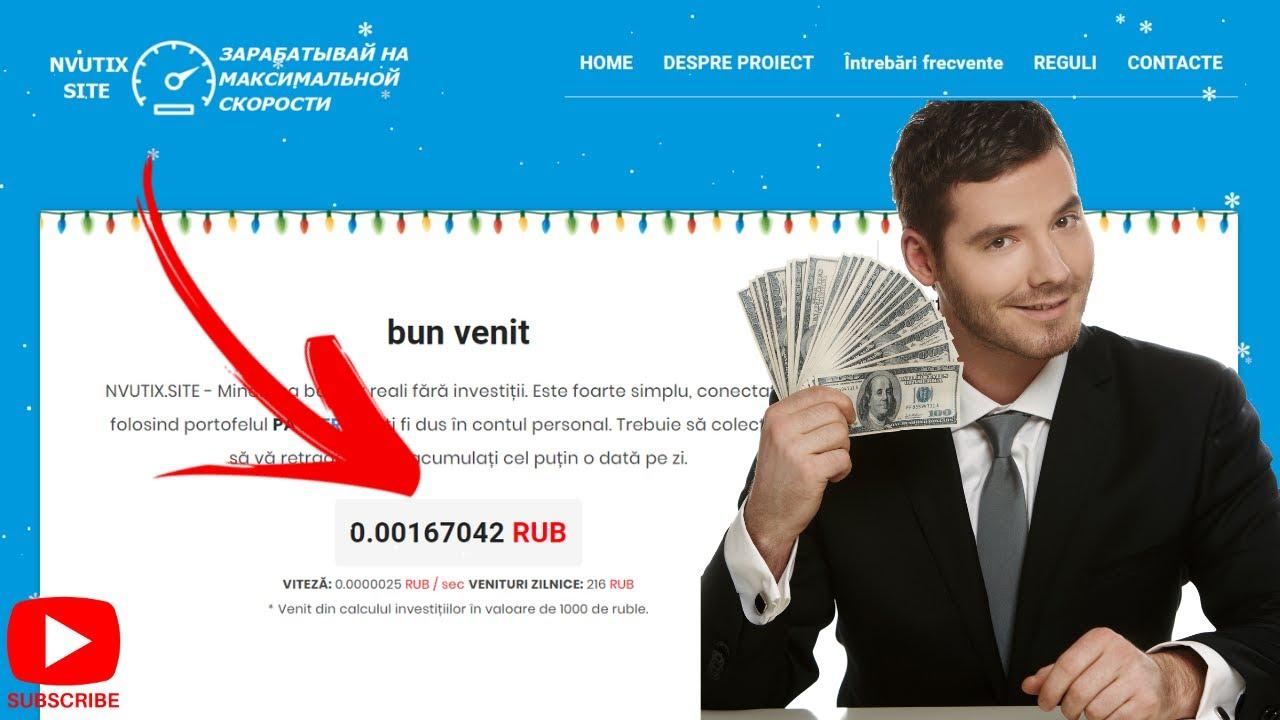 site unde câștigi bani reali