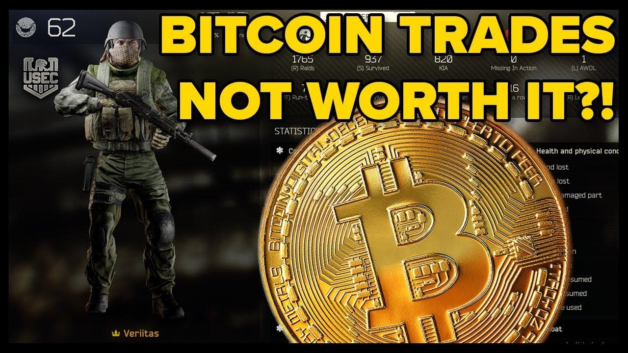 de unde să obțineți bitcoin în evadare de la tarkov