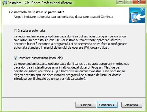 Opţiune software top-down inclusiv standard de calibrare TOPDOWN