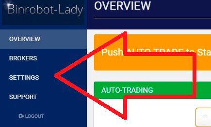 robotul cu opțiuni binare funcționează opțiuni în direcții diferite