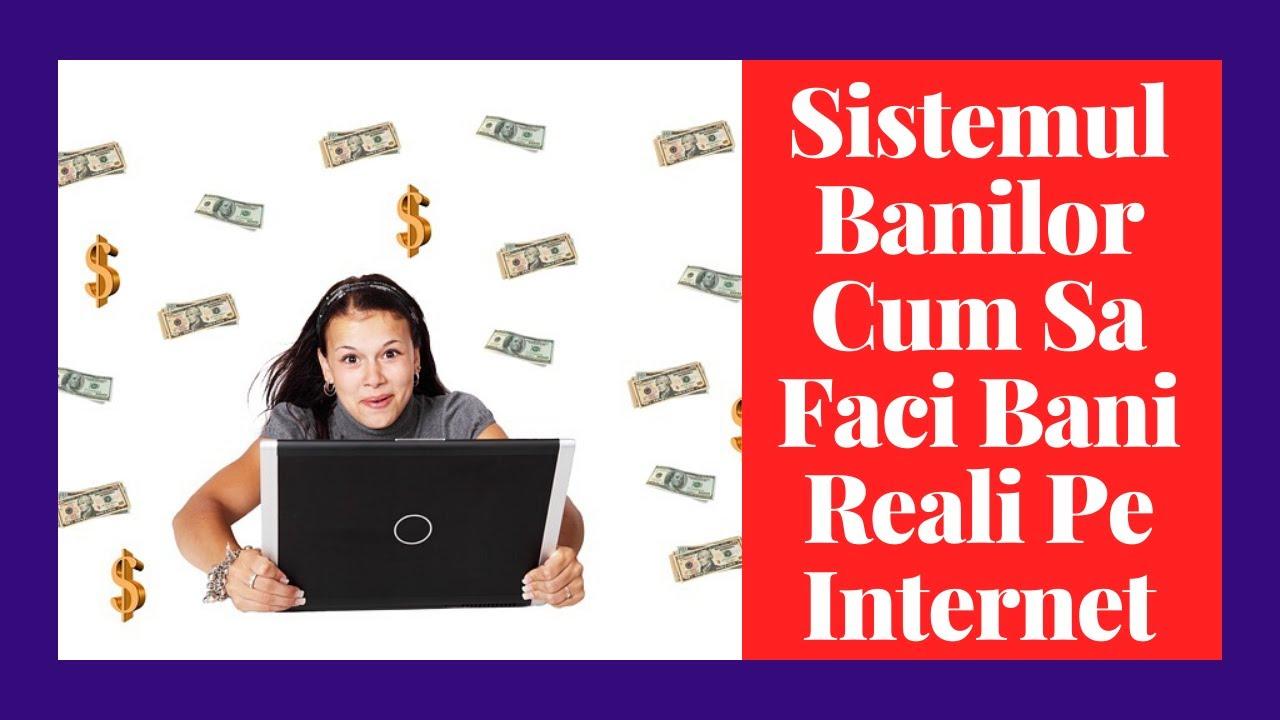 Fac bani reali pe internet ajută la câștigarea de bani reali