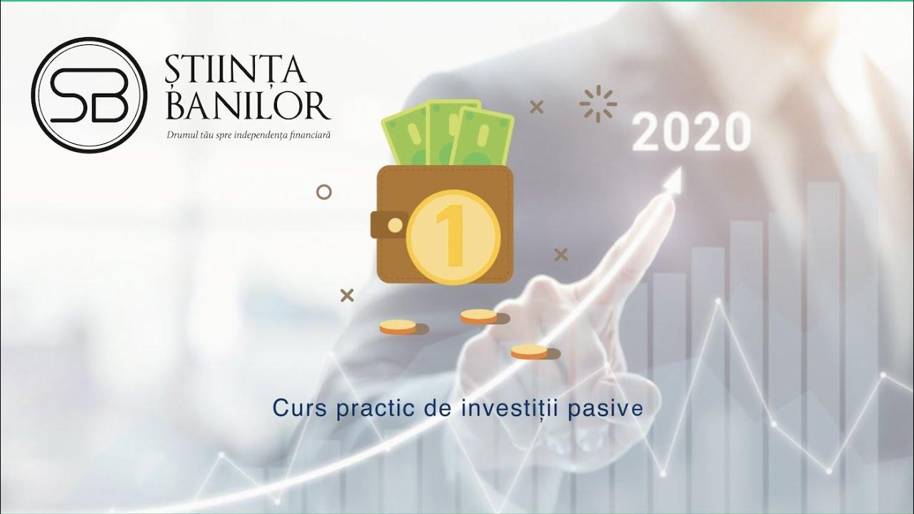 venituri pasive pe internet cu investiții