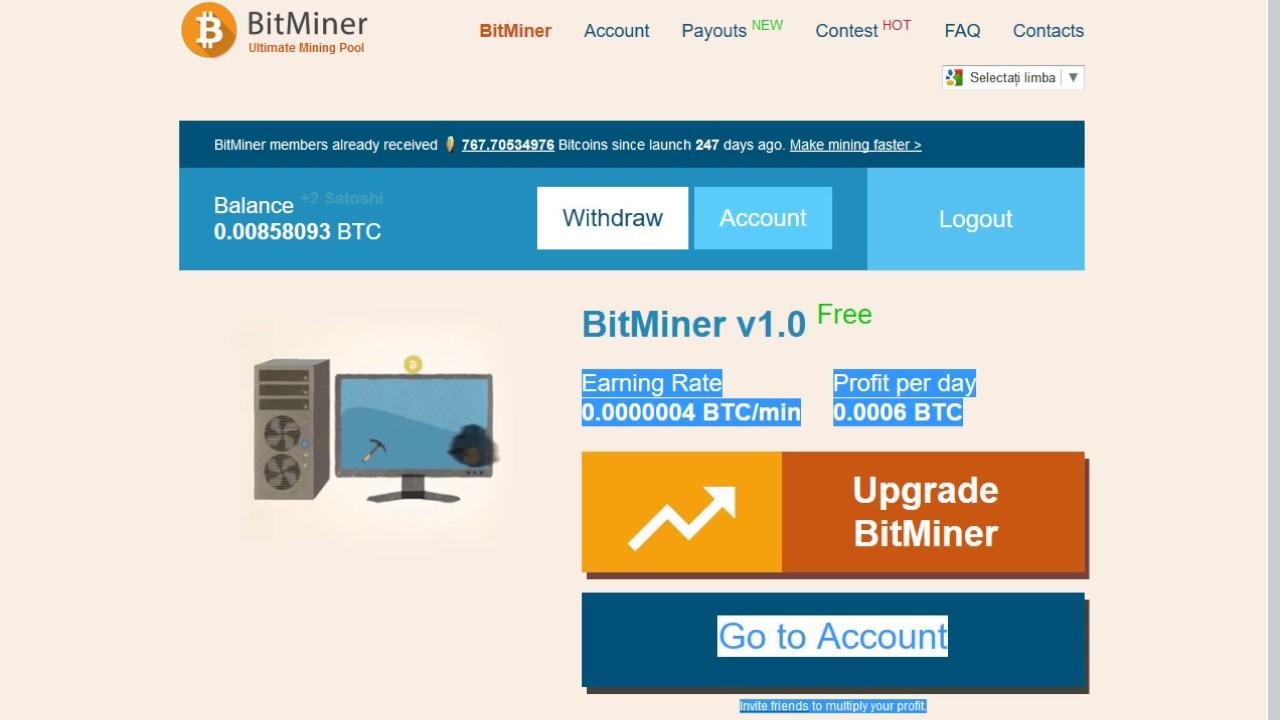 unde să câștigi miner bitcoin și să câștigi bani ușor