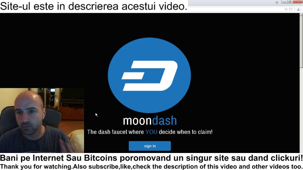 bani pe internet bitcoin