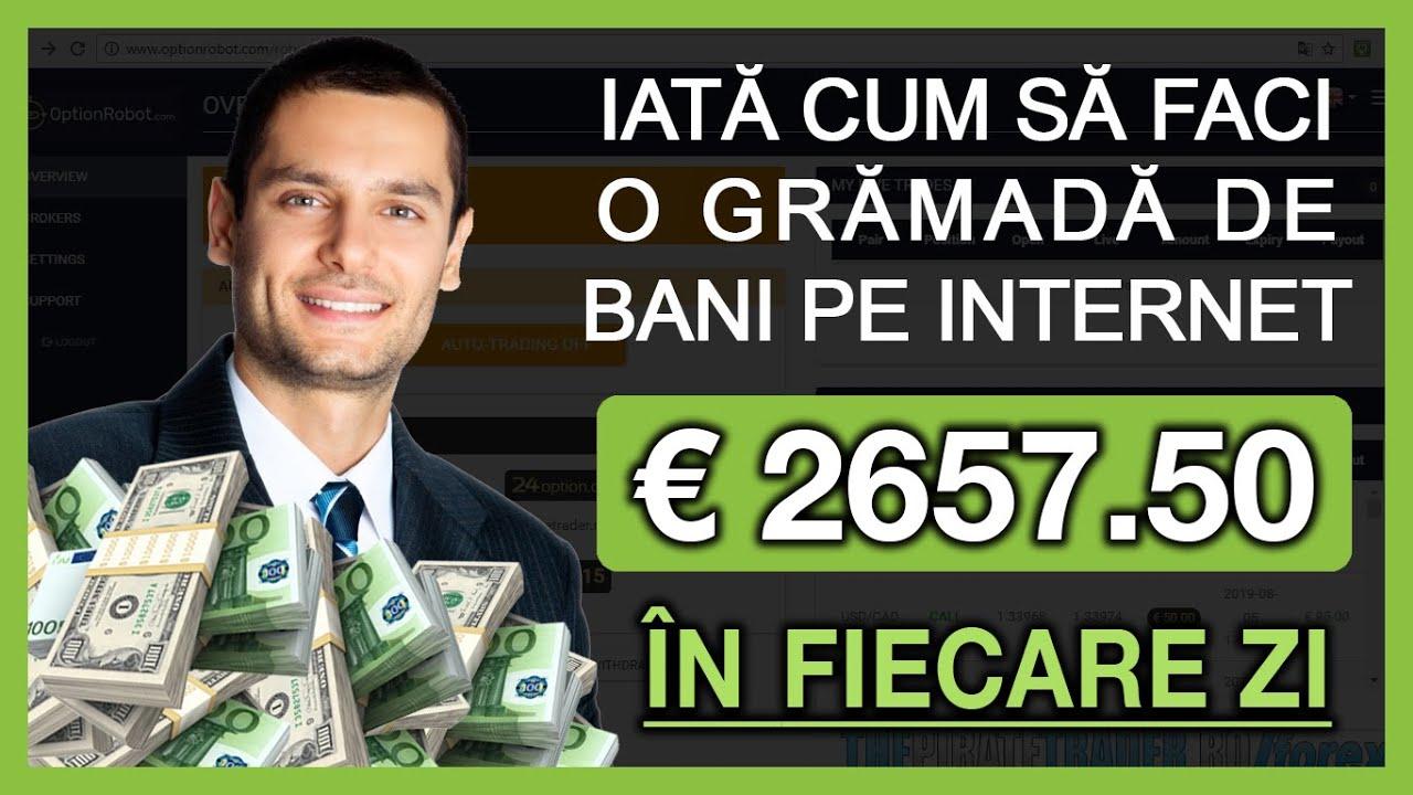 investiții de bani pe internet