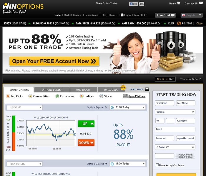 Cele mai bune Brokers - Binary options brokers reviews- OptionsWay